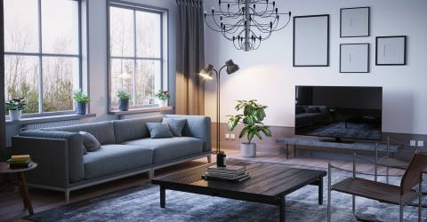 Inboedel woonkamer